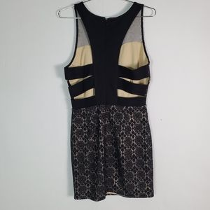 Forever 21 Lace Open Back Cocktail Dress